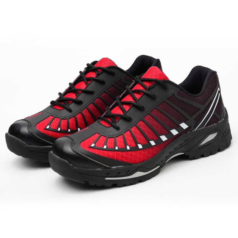Titanium Red Safety Shoe